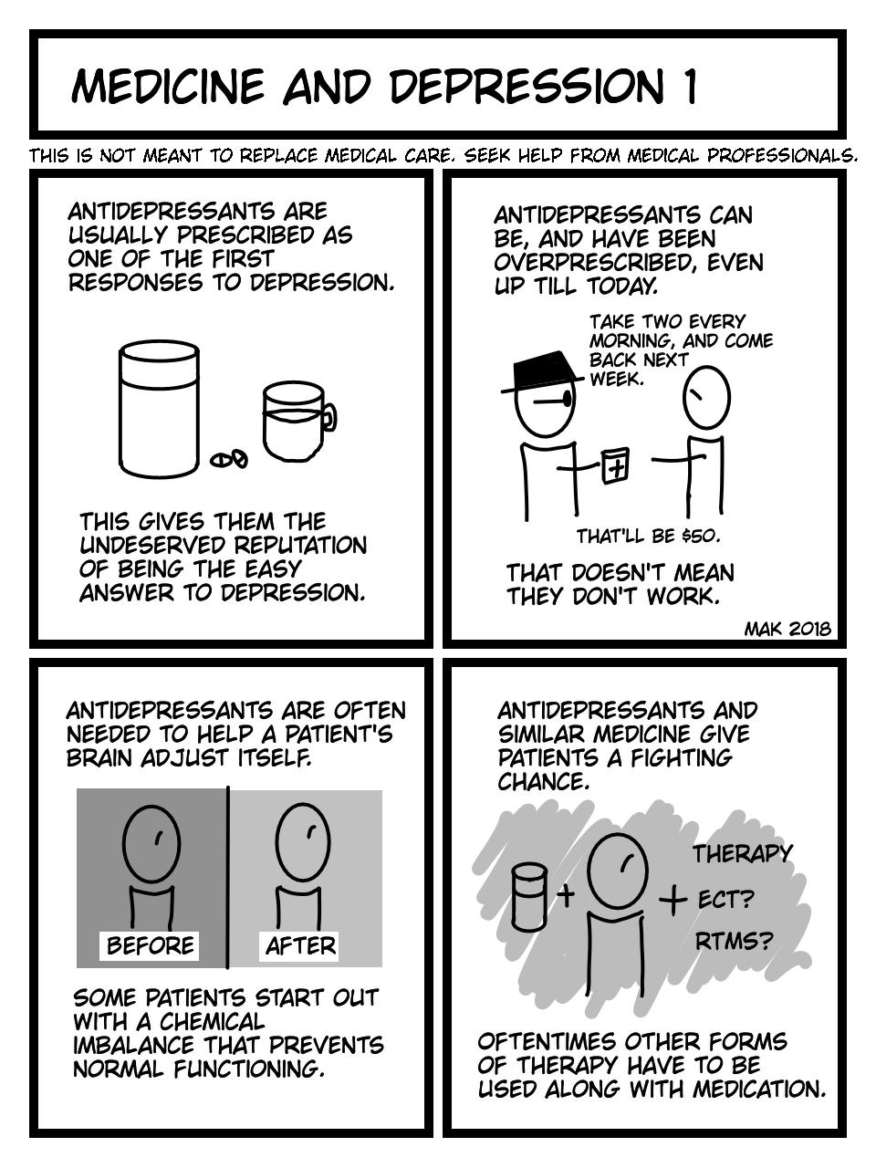 Medicine and Depression 1
