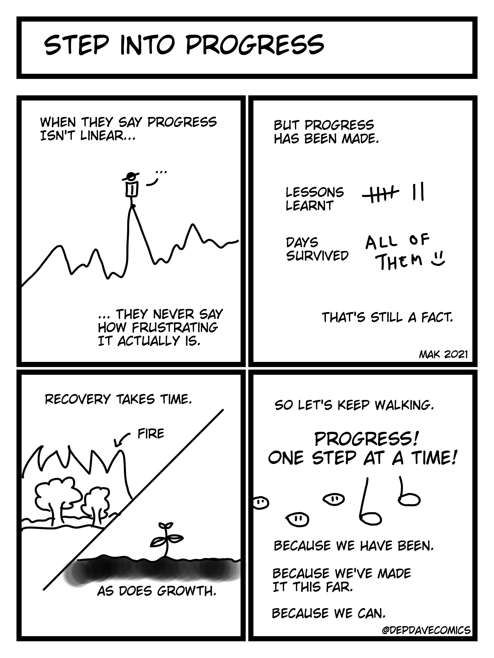 Step Into Progress
